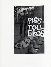 Photo: Pistoleros (fake flyer) 2007 8.5 x 11 in india ink on paper
