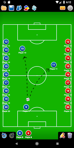 Coach Tactic Board: Soccer 1.2.2 screenshots 4