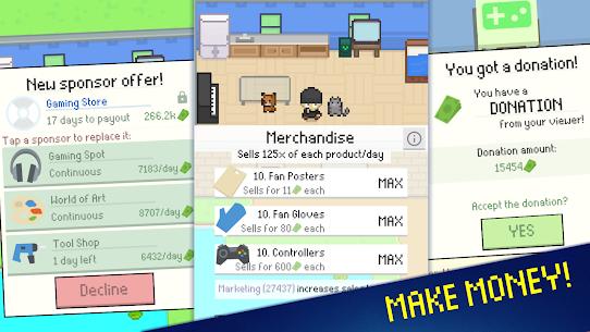 Streamer Sim Tycoon Mod Apk (Free Shopping) 7