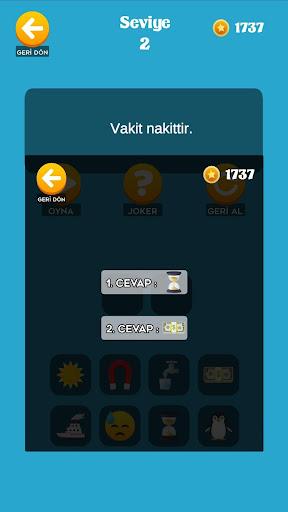 Emoji Bil - Atasözü ve Deyimler 0.6 screenshots 2