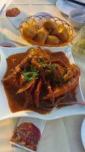 Photo: This chili crab was so delicious but so so messy