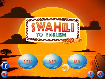 Swahili to English Bubble Bath- screenshot thumbnail
