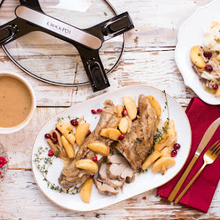Holiday Entertaining - Pork Tenderloin with Apple Cider & Herbs.