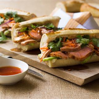 Pork Banh Mi Sandwiches.