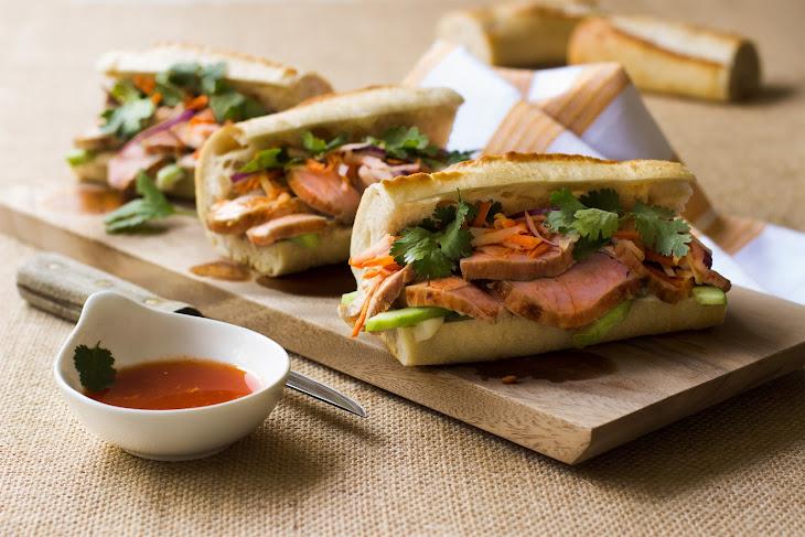 Pork Banh Mi Sandwiches Recipe