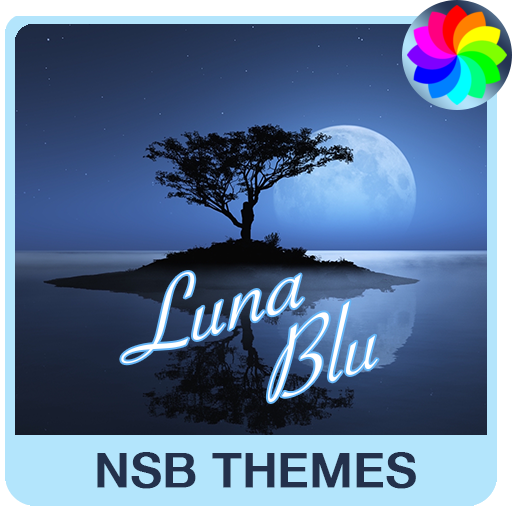 Luna Blu Theme for Xperia