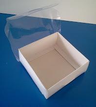 Photo: Caixa protótipo (23) - pequena e para usos diversos (tampa transparente).SPP 389 - 94mm x 92mm x 35mm