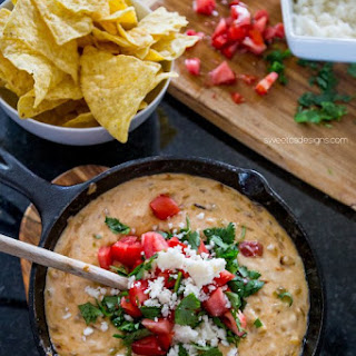Green Chile Skillet Queso