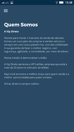 VIP Direto 1.8.1 screenshots 4