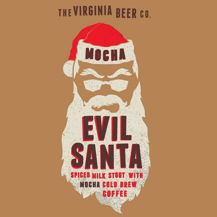 Logo of Virginia Beer Co. Mocha Evil Santa