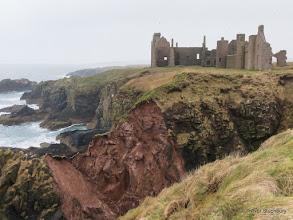 Photo: Recent Landslip North of Slains Castle