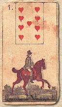 Photo: 1846 A legrégebbről fent maradt Lenormand jóskártya - 1. kártyakép
