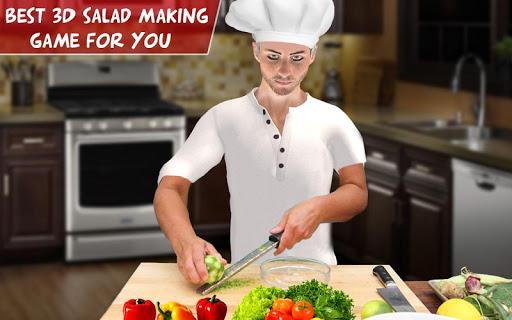 Virtual Chef Cooking Game 3D: Super Chef Kitchen apkdebit screenshots 9