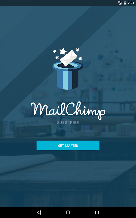 MailChimp Subscribe- screenshot