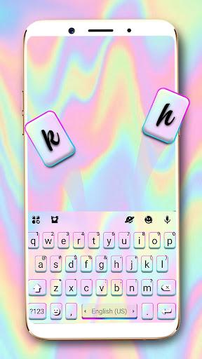Download Melt Pastel laser Keyboard MOD APK 1