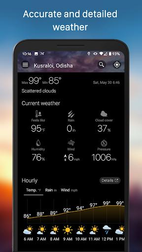 Weather & Widget - Weawow 4.4.2 screenshots 5