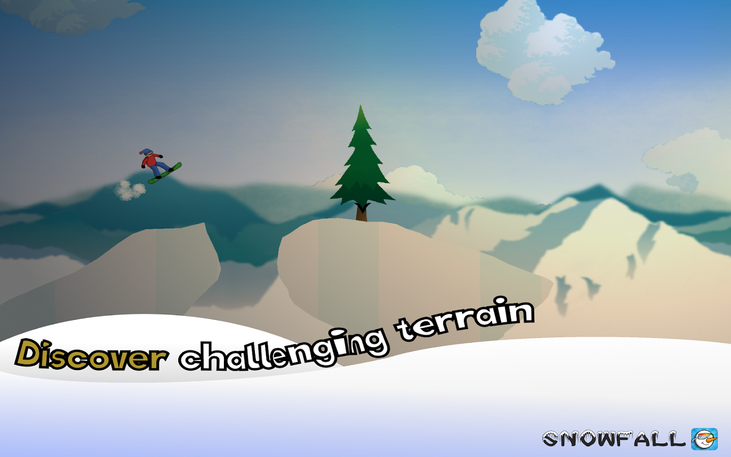 Snowfall Snowboarding- screenshot