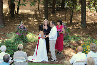 Photo: Wedding Ceremony Officiant Minister - Lake Hartwell - Anderson, SC - http://WeddingWoman.net