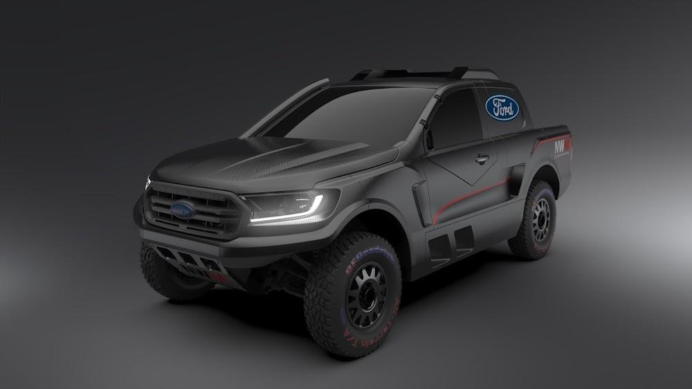 New FIA Ford Ranger boasts twin-turbo V6 power