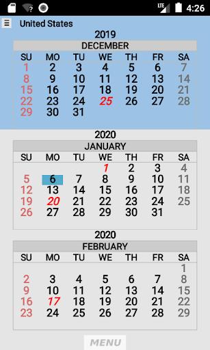 Wallet Calendar screenshots 3