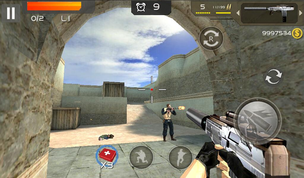 Gun & Strike 3D- screenshot