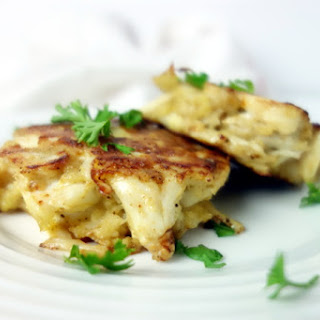 Old Bay Maryland Crab Cakes.