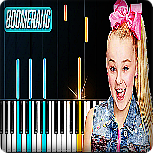 Jojo Siwa Boomerang Piano Game