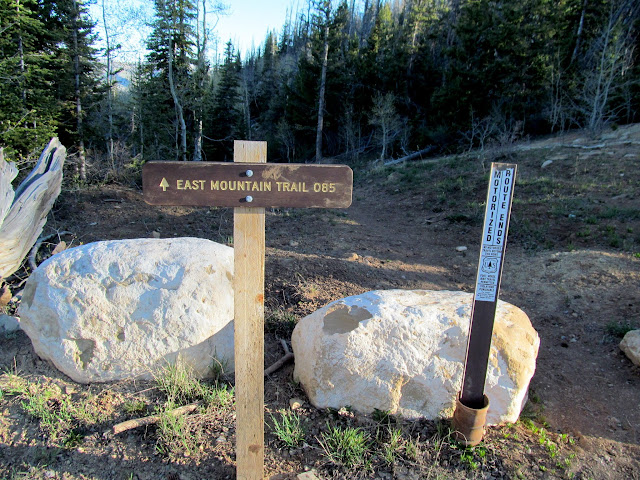 East Mountain trailhead