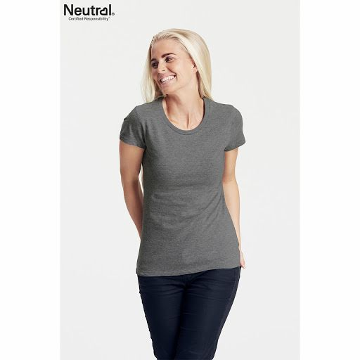 Neutral Ladies Fitted T-Shirt Magenta