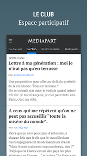 Mediapart - náhled