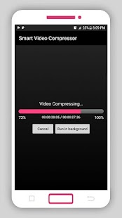 Smart Video Compressor and resizer Screenshot