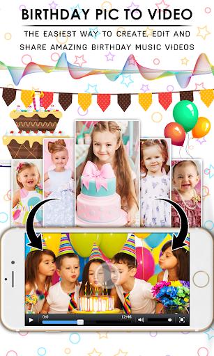 Birthday Video Maker With Music & Editor 1.0.3 screenshots 1