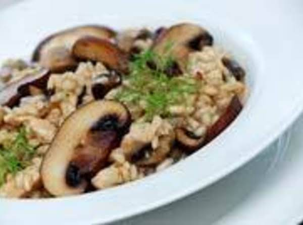 Slow Cooker Risotto With Gourmet Mushrooms Recipe