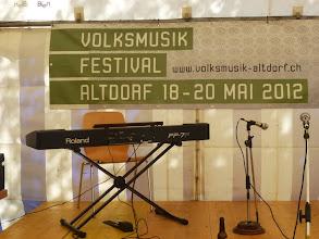 Photo: In Altdorf ist alles bereit