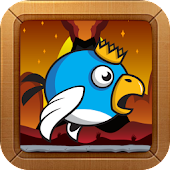 Free Angry Volcano Birds Zfighter APK for Windows 8