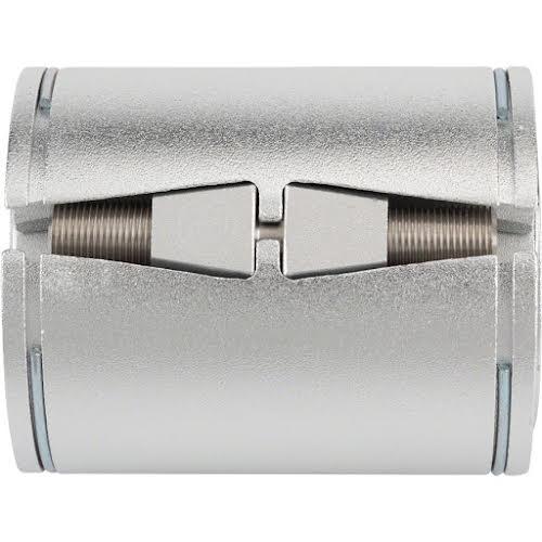 Problem Solvers Problem Solvers Bushnell Eccentric Classic Bottom Bracket - 68mm x 54mm, Silver