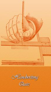 Kvíz v rukopisu - náhled