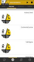 Screenshot of Radio Continental 102.3FM