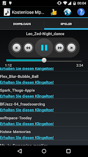 Kostenlose Mp3 Musik Screenshot