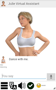 My Virtual Assistant Julie screenshot
