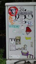 Photo: Kabelverteiler; Stickerparade; TRIEB SMILE PQUS et al.