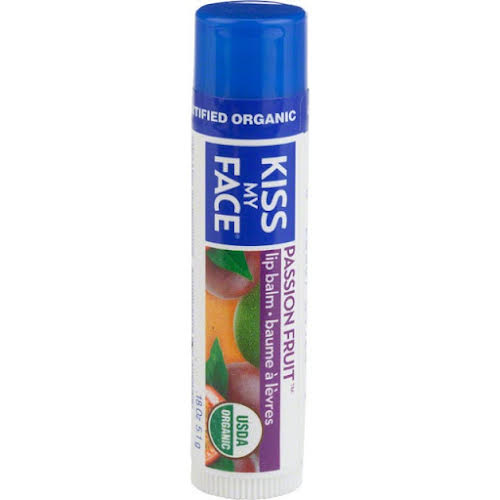 Kiss My Face Organic Lip Balm: Passion Fruit