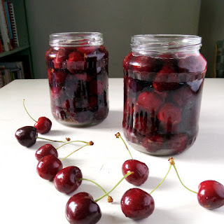 How To Preserve Cherries, low sugar