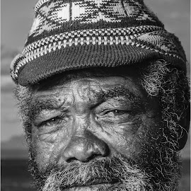 Shades of grey  by Brandon Mentoor - People Portraits of Men ( old man )