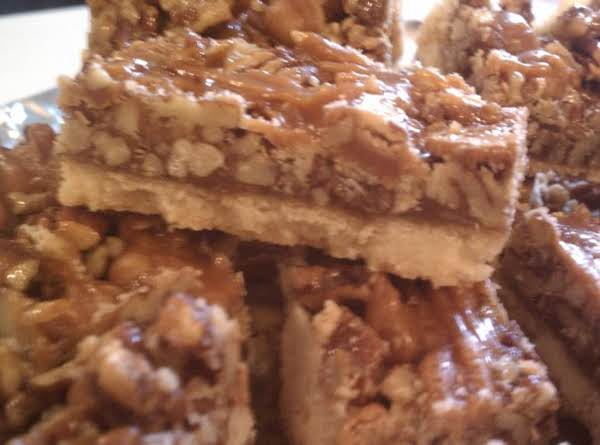 Caramel-pecan Bars Recipe