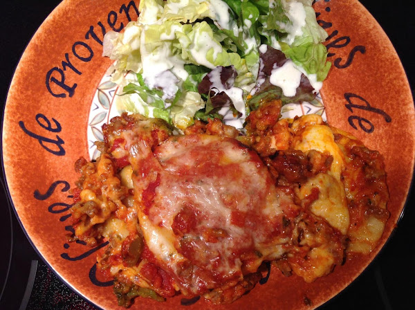 Last Minute Lasagna With Meat Recipe