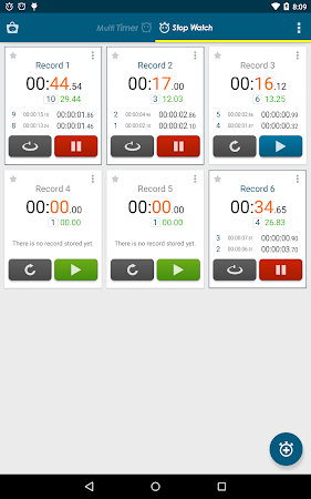 Multi Timer StopWatch 2.3.1 screenshot 257034