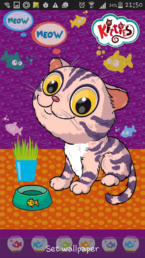 Kitties Live Wallpaper- screenshot