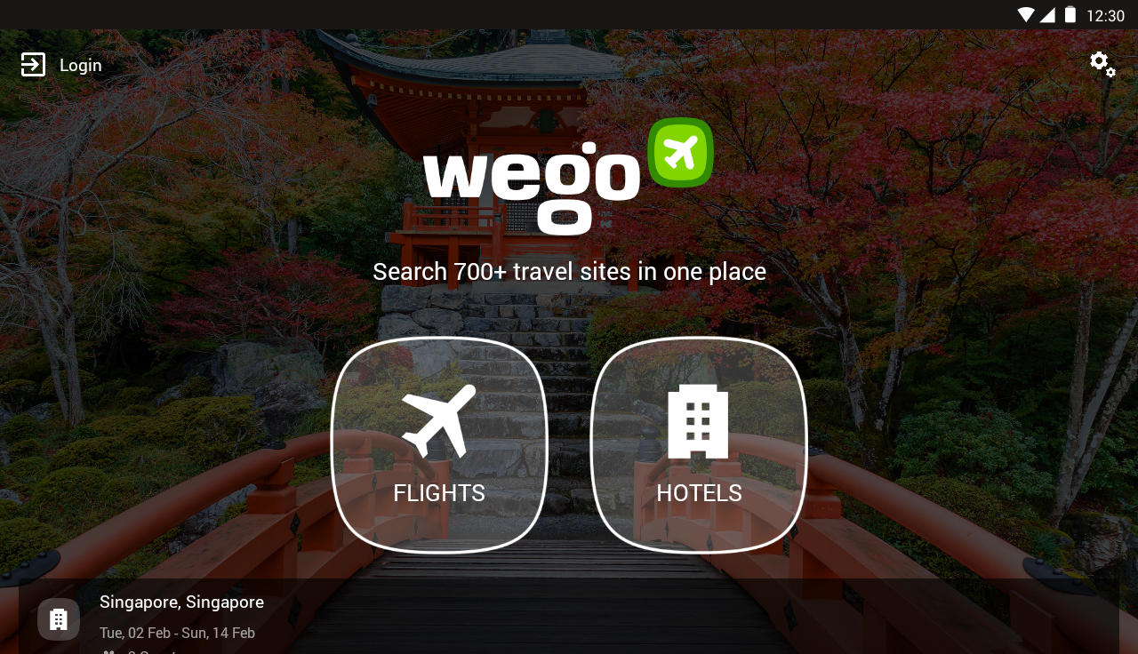 Wego Flights & Hotels- screenshot