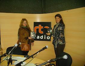 Photo: LA TIERRA HABLA EN RTN.Verónica Viegas y la FM de RTN y yo